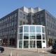 De Ratelaar 1 80x80 - Kantoorgedeelte Kobelco Almere.  Leveren en aanbrengen 580 m2 tapijttegels en 430 m2 pvc stroken incl egaliseren van de vloer.