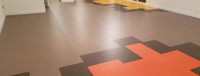 linoleum patroonwerk 10 1 845x321 - Linoleum met figuratie in Hilversum