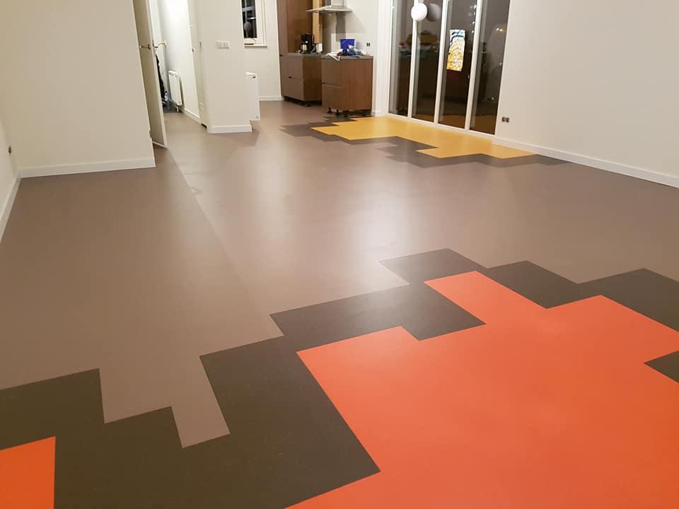 Linoleum Tegels Kopen : Linoleum met figuratie in hilversum kooijman interieurprojecten