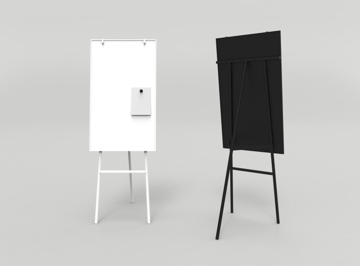 thumb 2x 33 - Lintex - Mobile Writing Boards & Flipchart Easels