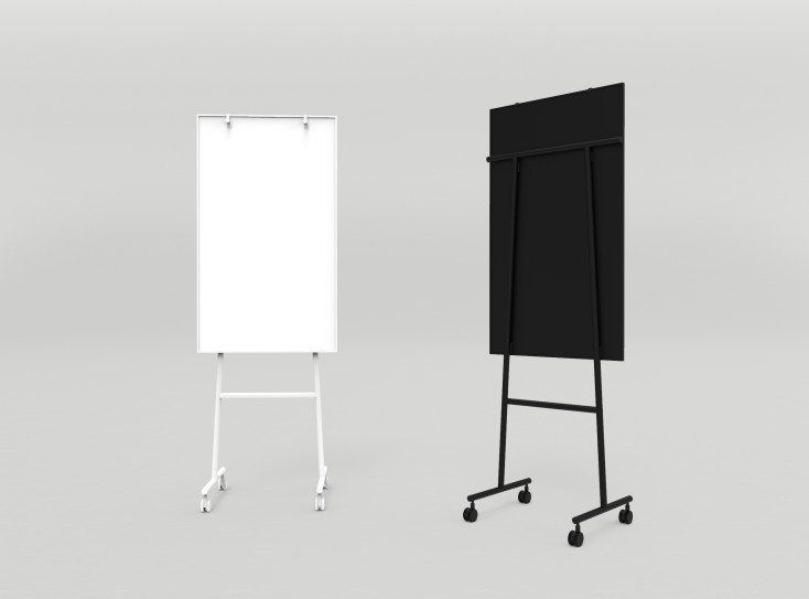 thumb 2x 34 - Lintex - Mobile Writing Boards & Flipchart Easels